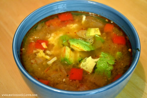 chicken tortilla soup crockpot