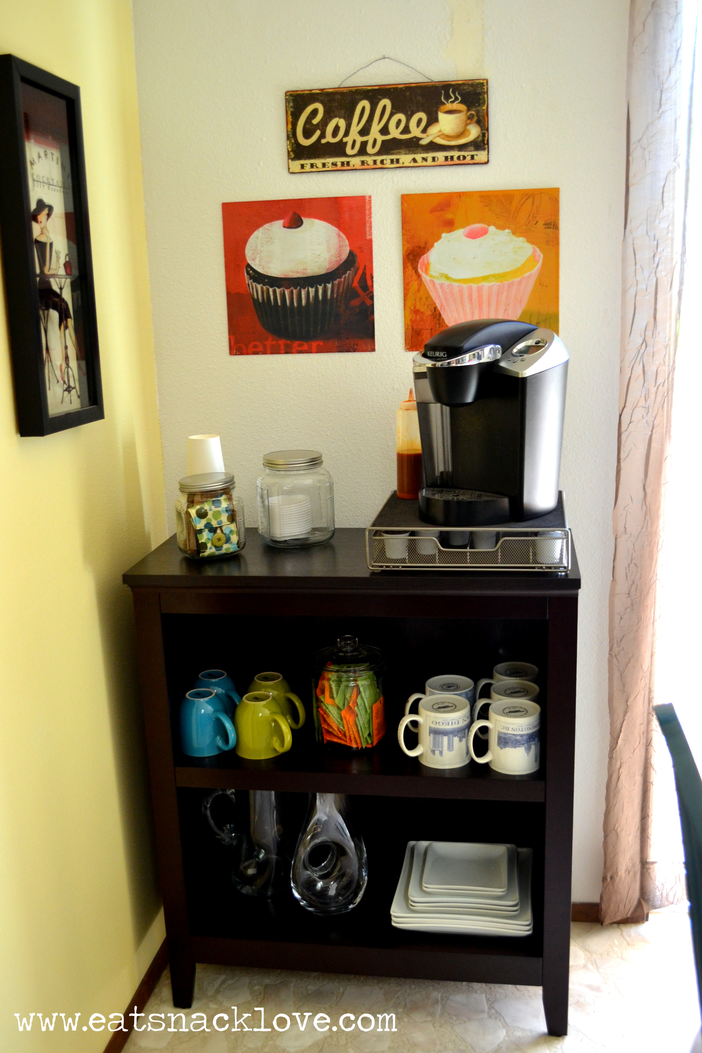 Make your own coffee bar for Coffee bar station